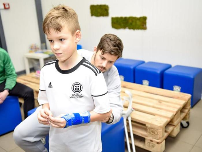 Piłka nożna Gorzów dzieci treningi Chemik Stilon Stal Warta